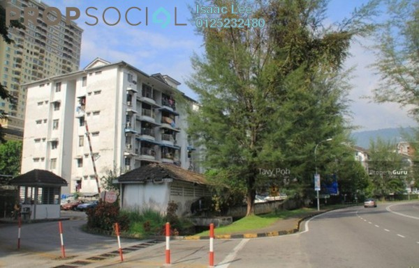 Condominium For Sale in Tanjung Court, Farlim Freehold Unfurnished 3R/2B 275k
