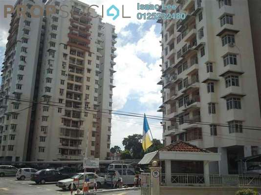 Apartment For Rent in Acres Ville, Sungai Ara Freehold Semi Furnished 3R/2B 1k