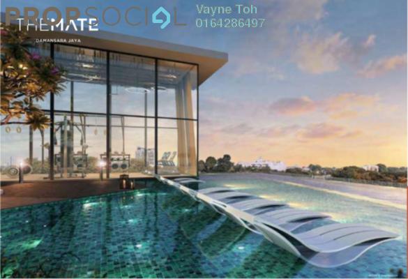 Kondominium Untuk dijual di The Mate, Petaling Jaya Freehold Fully Furnished 1R/1B 270Ribu