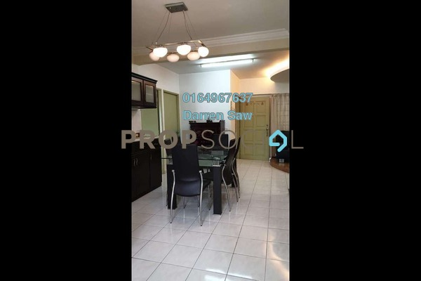 Apartment For Sale in Sri Impian Apartment, Farlim Freehold Semi Furnished 6R/4B 560k