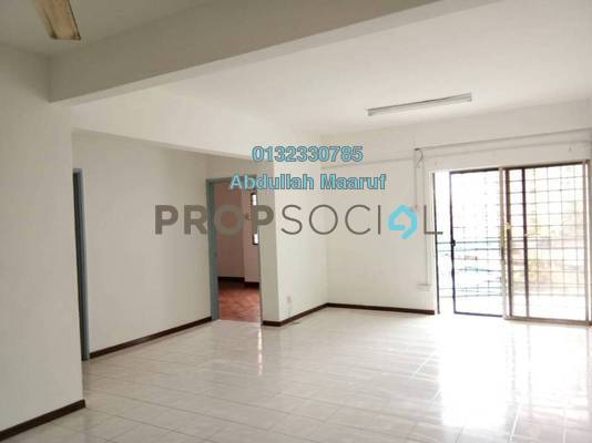 Condominium For Rent in City Garden Palm Villa, Pandan Indah Freehold Semi Furnished 3R/2B 1.3k