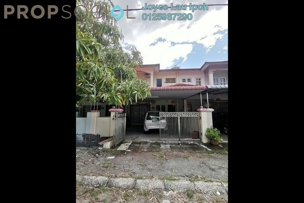 Townhouse For Sale in Taman Impiana Adril, Menglembu Freehold Unfurnished 4R/3B 250k