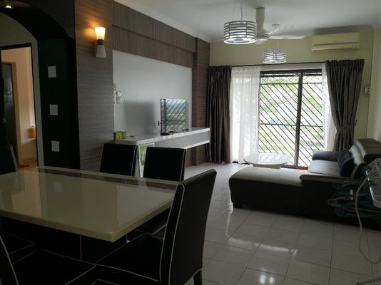 Apartment For Rent in Pan Vista, Bandar Baru Permas Jaya Freehold Fully Furnished 3R/2B 1.6k