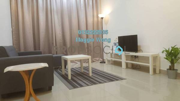 Condominium For Rent in V-Residensi 2, Shah Alam Freehold Fully Furnished 2R/2B 1.8k