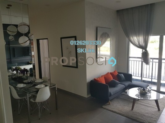 Condominium For Sale in Vista Heights, Johor Bahru Freehold Unfurnished 3R/2B 280k