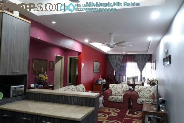 Condominium For Sale in Kemensah Villa, Kemensah Freehold Semi Furnished 3R/2B 490k