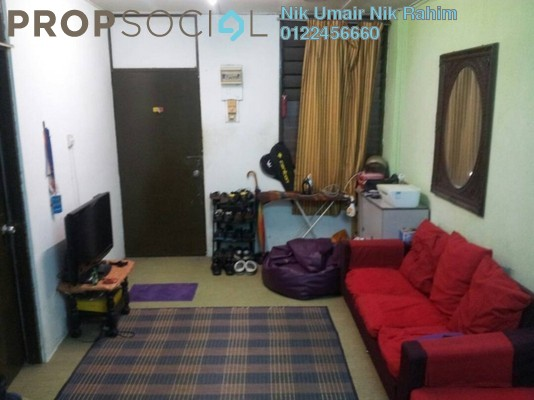 Apartment For Sale in Section 1, Wangsa Maju Freehold Unfurnished 2R/1B 220k