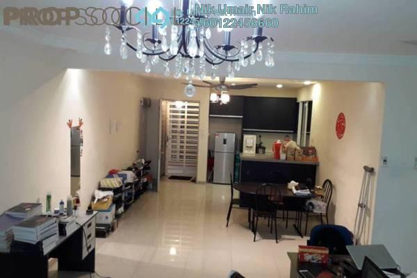 Condominium For Sale in Platinum Lake PV16, Setapak Freehold Semi Furnished 3R/2B 555k