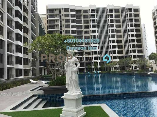 Condominium For Rent in Upper East @ Tiger Lane, Ipoh Freehold Semi Furnished 3R/2B 2.2k