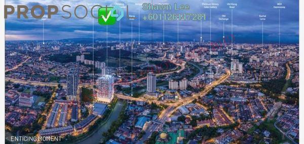 Condominium For Sale in Platinum Arena, Old Klang Road Freehold Semi Furnished 3R/2B 472k