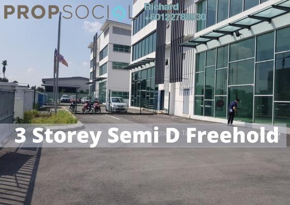 Factory For Sale in Nouvelle Industrial Park, Kota Damansara Freehold unfurnished 0R/0B 3.9m