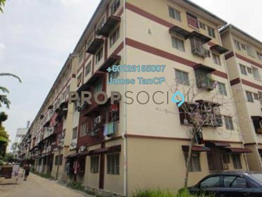 Apartment For Sale in Taman Sri Pulai Perdana 1, Pulai Freehold Semi Furnished 3R/2B 63k