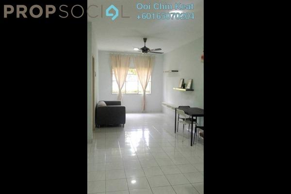 Apartment For Sale in Cemara Apartment, Bandar Sri Permaisuri Freehold Semi Furnished 3R/2B 320k