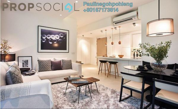 Serviced Residence For Sale in Cantara Residences, Ara Damansara Freehold Semi Furnished 2R/0B 530k