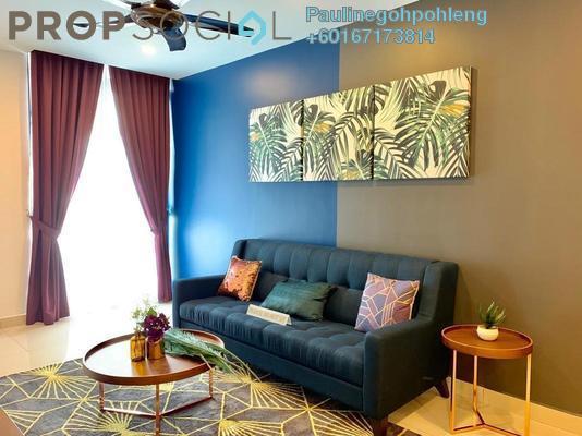 Condominium For Sale in H2O Residences, Ara Damansara Freehold Semi Furnished 3R/2B 595k