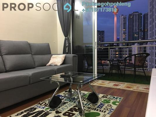 Apartment For Sale in Casa Mutiara, Pudu Freehold Fully Furnished 1R/1B 299k