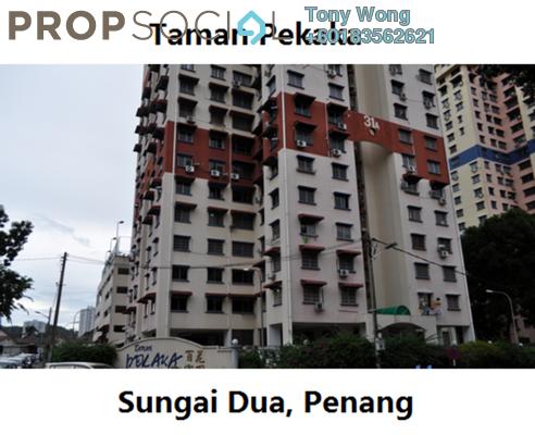 Condominium For Rent in Taman Pekaka, Sungai Dua Freehold Fully Furnished 3R/2B 1.2k