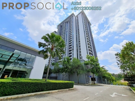 Condominium For Sale in Serin Residency, Cyberjaya Freehold semi_furnished 3R/2B 410k