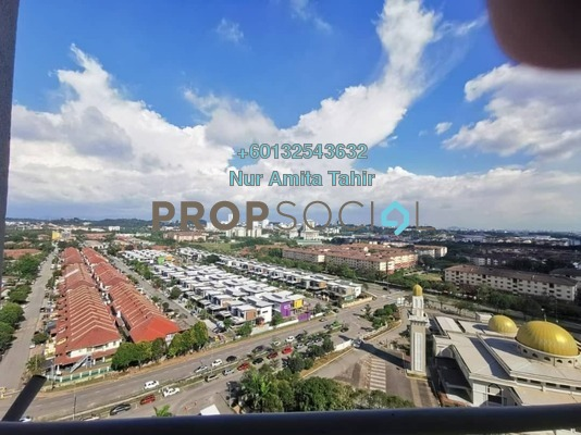 Condominium For Sale in Kristal View, Shah Alam Freehold Unfurnished 3R/2B 450k