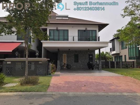 Semi-Detached For Sale in Setia Eco Glades, Cyberjaya Freehold Unfurnished 4R/5B 1.95m