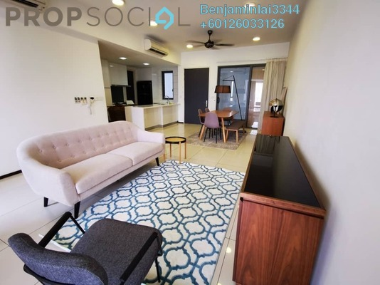 Condominium For Sale in The Breezeway, Desa ParkCity Freehold Fully Furnished 3R/2B 1.45m