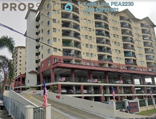 Condominium For Sale in Mandy Villa, Segambut Freehold Semi Furnished 3R/2B 300k