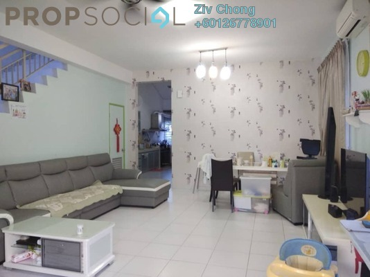 Semi-Detached For Sale in Taman Bukit Indah, Bukit Indah Freehold Semi Furnished 3R/2B 720k