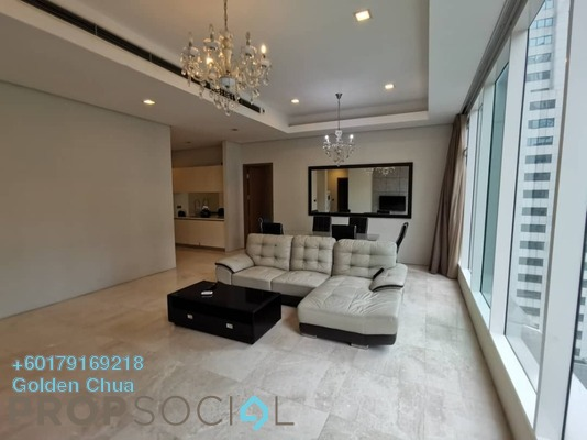 Condominium For Rent in Vipod Suites, KLCC Freehold Fully Furnished 3R/2B 4k