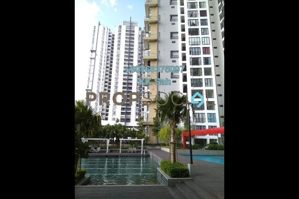 Serviced Residence For Rent in You Vista @ You City, Batu 9 Cheras Freehold Semi Furnished 2R/2B 1.5k