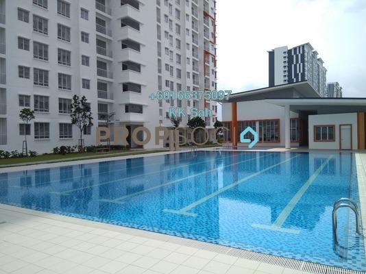Condominium For Sale in D'Cerrum @ Setia EcoHill, Semenyih Freehold Unfurnished 3R/2B 250k