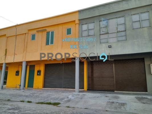 Factory For Sale in Pulau Indah Industrial Park, Port Klang Leasehold Unfurnished 1R/2B 288k