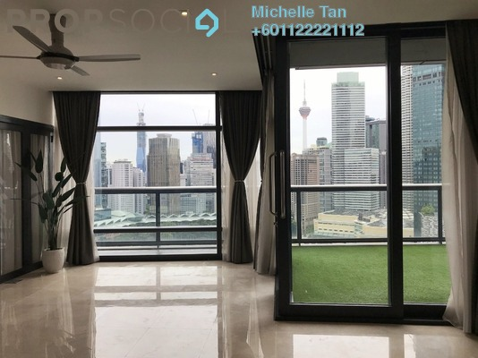 Condominium For Rent in The Troika, KLCC Freehold Semi Furnished 3R/3B 10.8k