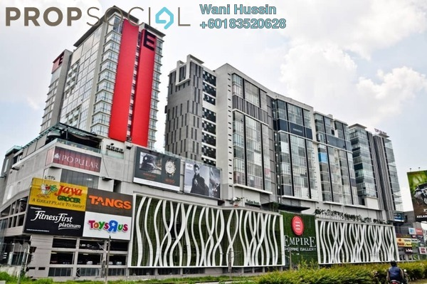 Shop For Sale in Empire Subang, Subang Jaya Freehold Semi Furnished 0R/0B 5.5m