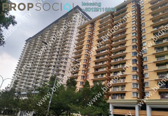 Condominium For Sale in Platinum Hill PV6, Setapak Freehold Unfurnished 0R/0B 389k