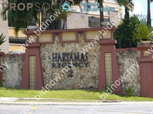 Duplex For Sale in Hartamas Regency 2, Dutamas Freehold Unfurnished 0R/0B 1.02m
