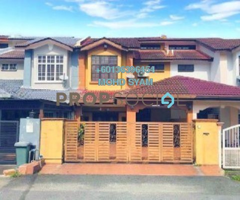 Terrace For Sale in Seksyen 4, Bandar Baru Bangi Freehold Semi Furnished 4R/3B 550k