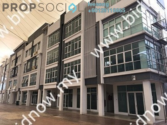 Office For Sale in Boulevard Business Park, Jalan Ipoh Freehold Unfurnished 0R/0B 343k