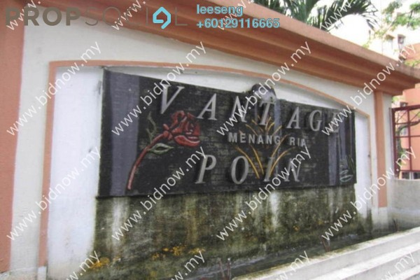 Condominium For Sale in Vantage Point, Desa Petaling Freehold Unfurnished 0R/0B 250k