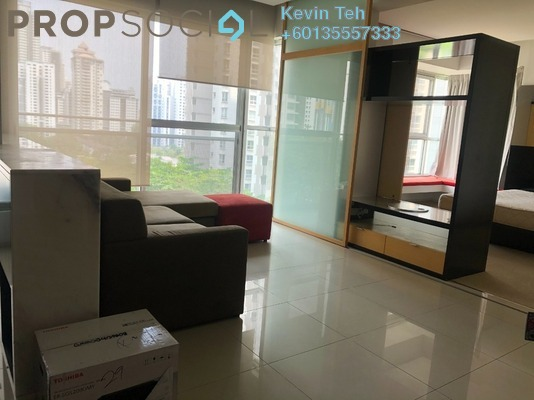Condominium For Rent in VERVE Suites, Mont Kiara Freehold Fully Furnished 2R/2B 2.8k