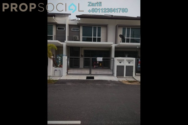 Terrace For Rent in Azlena, Bandar Saujana Putra Freehold Fully Furnished 4R/3B 1.8k