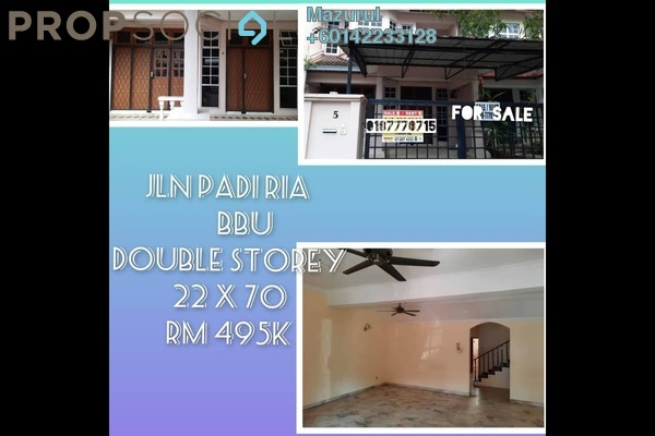 Terrace For Sale in Bandar Baru Uda, Johor Bahru Freehold Unfurnished 4R/3B 495k
