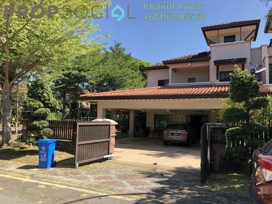 Superlink For Sale in Section U8, Bukit Jelutong Freehold Fully Furnished 5R/5B 1.8m