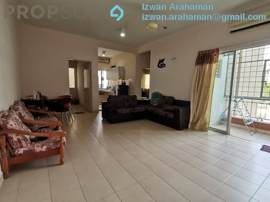 Apartment For Sale in Kasuarina Apartment, Klang Freehold Unfurnished 3R/2B 280k