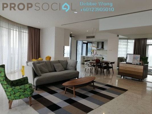 Condominium For Rent in K Residence, KLCC Freehold Fully Furnished 3R/4B 13k