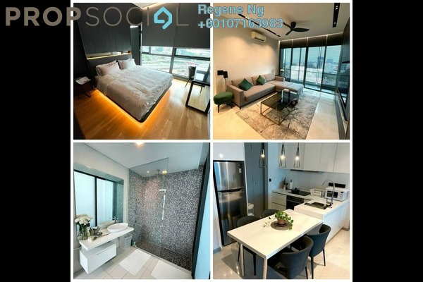 Condominium For Sale in Vogue Suites One @ KL Eco City, Mid Valley City Freehold Fully Furnished 2R/2B 13.8m