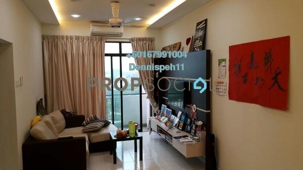 Serviced Residence For Sale in Jentayu Residensi, Johor Bahru Freehold Fully Furnished 3R/2B 340k