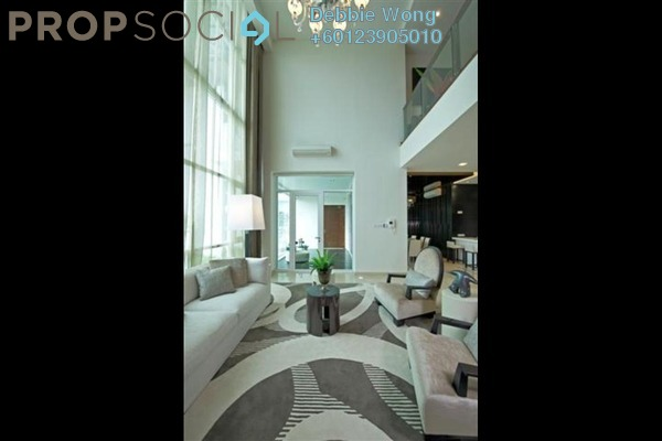 Duplex For Sale in Sunway Vivaldi, Mont Kiara Freehold Fully Furnished 4R/5B 3m