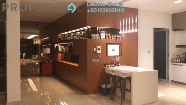 Duplex For Sale in Sunway Vivaldi, Mont Kiara Freehold Fully Furnished 4R/5B 3.2m