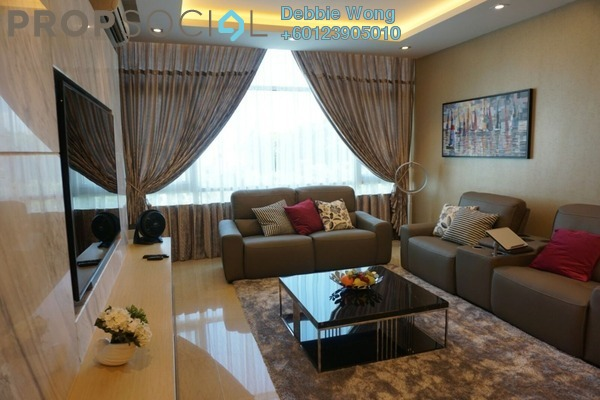 Duplex For Sale in Sunway Vivaldi, Mont Kiara Freehold Fully Furnished 4R/5B 3.95m
