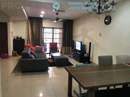 Terrace For Sale in Kensington Park, Dutamas Freehold Semi Furnished 6R/5B 2.6m
